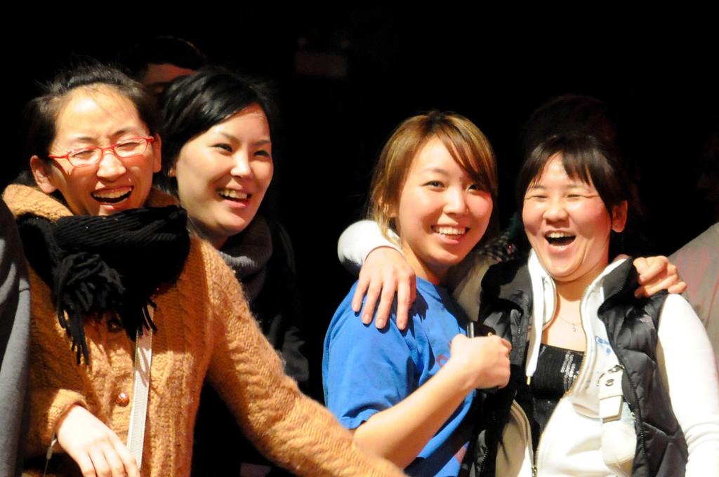 The ladies (including BGirl ____?)