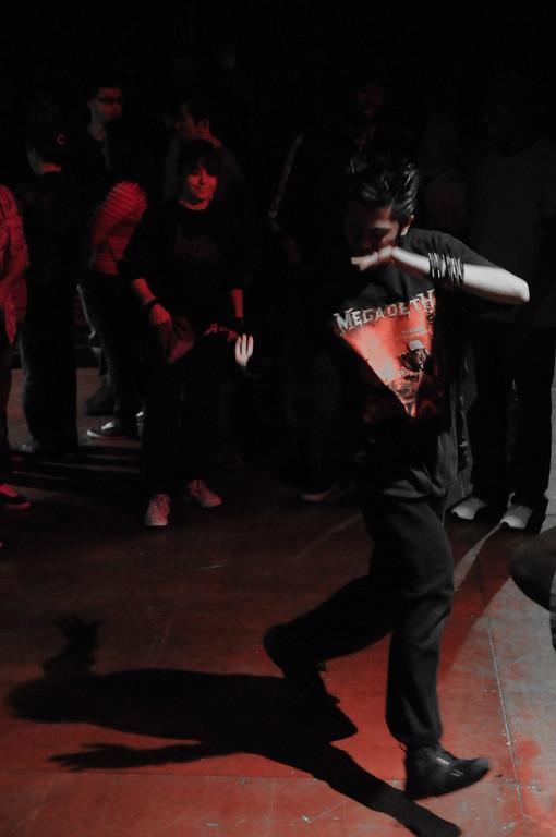 BBoy Goth Metal Ninja