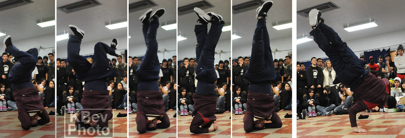 It's one thing to do a headspin... but to start low, then extend like a figure-skater, and end with a 1-hand-stand... That's disgusting...