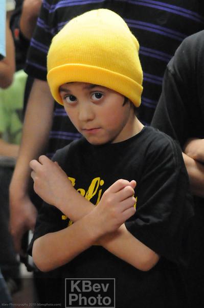 The birthday boy --- BBoy P-Nut, age 10