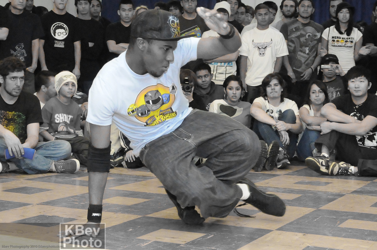 Ground work by BBoy Quion Solo from the Cypher Rangers crew