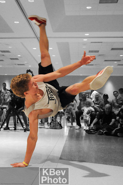 BBoy Blank from Grand Rapids - Live