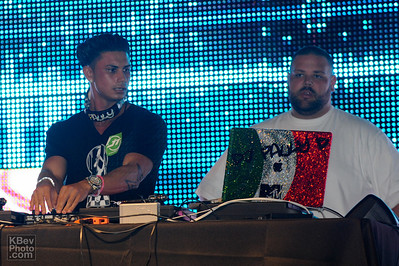 MTV Jersey Shore's DJ Pauly D and some guy