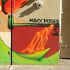 """Max Moses - the artist of """"Color of my Soul"""" on Turk St. & Mason St."""