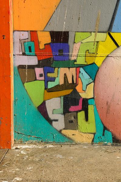 """Color of my Soul"" - near Turk St. & Mason St."