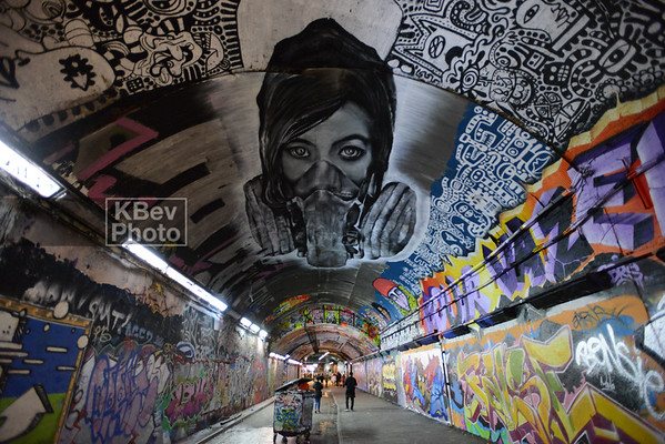 London's Leake St Tunnel (Jan 16)