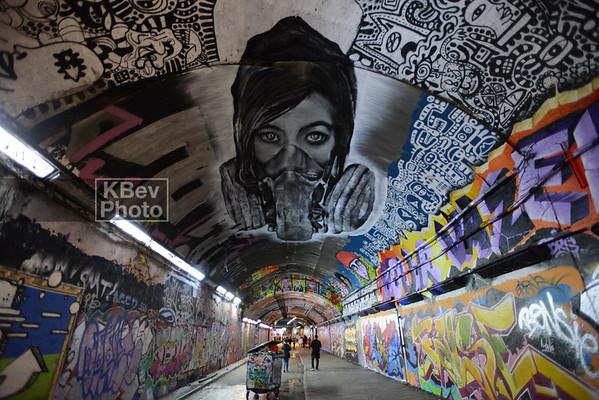 London's Leake St Tunnel (Jan 16)