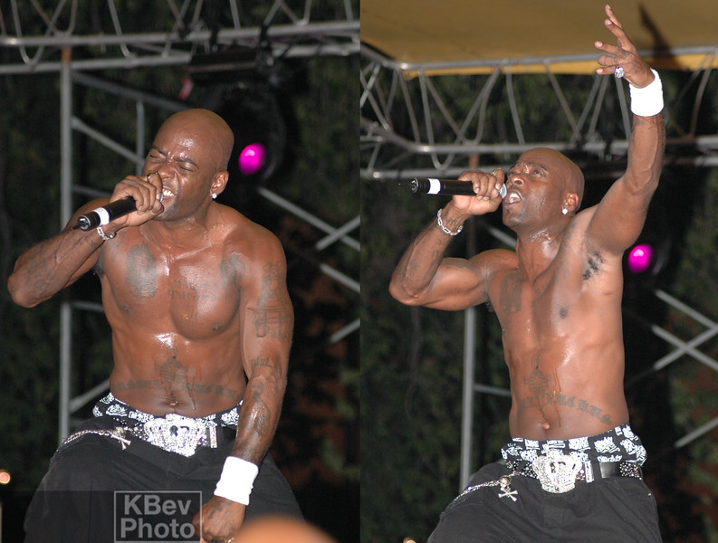 Treach was still fired up on stage.