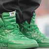 Gotta be honest, the green Nike's were kinda nice