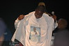 Doug E. Fresh felt the love.  You know you're the man when you wear a t-shirt of yourself in the same outfit you're wearing.