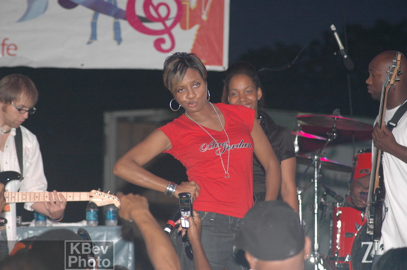 One of a series of old school poses from Ms. Lyte
