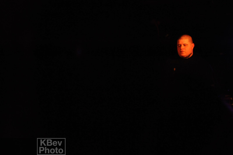 I am not sure what happened to the lighting, but somehow I got a photo of VInnie Paz's head floating in space