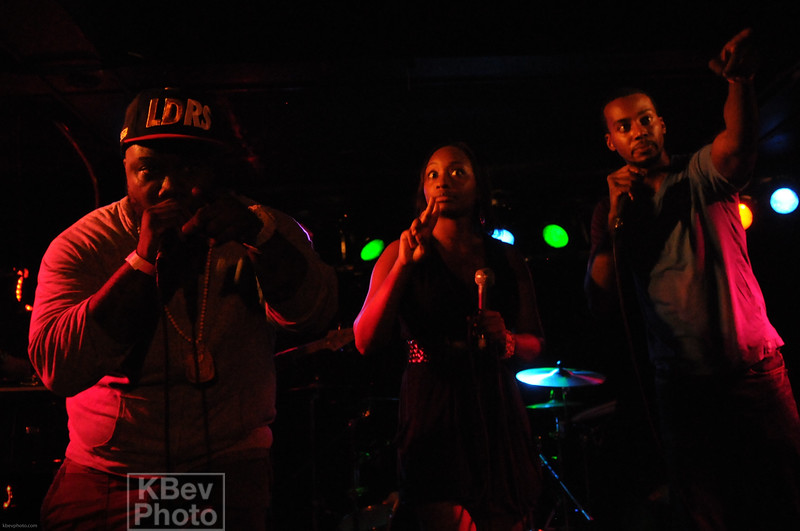 H20 Soul - They held is down with the live band