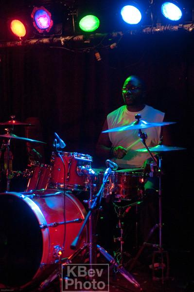 Cuz on Drums
