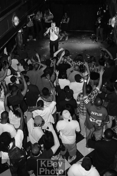 Subterranean July 2009 - Keith Murray on stage