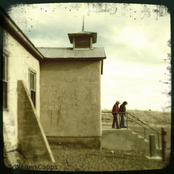 School at lake Valley, NM.