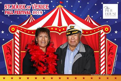St. Mark of Venice Fall Festival 2019.  Photo booth by Venice Paparazzi