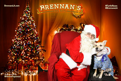 Brennan's Bad Santa Photo Booth by VenicePaparazzi.com