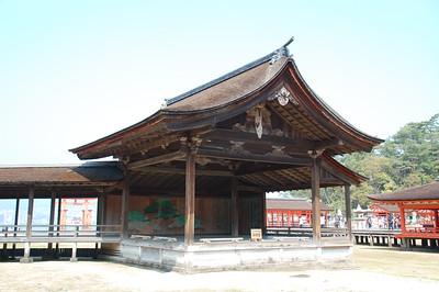 The Noh theatre at Itsukushima Shrine