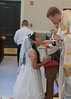 Cindy Martinez First Communion Sacred Heart Church Salisbury, NC  050314  Fr