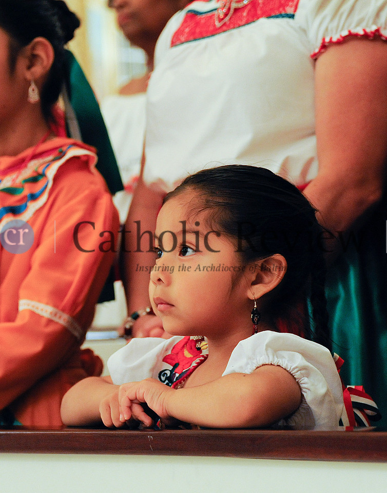 Hispanic Heritage Month Even at the Basilica by Bil McAllen Photography<br /> Mia Gonzales at pew