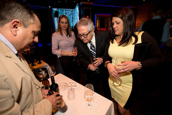 """Photos from """"A Toast for Hope"""" wine tasting at  Son Cubano Restaurant in West New York. The wine tasting was held to benefit Holy Name Medical Center's Hispanic Outreach Program. The event was hosted by Henry Fernandez-Cos, M.D. 2/24/14 Photo By Jeff Rhode / Holy Name Medical Center"""