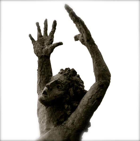 Statue mémorial, Oradour sur Glane