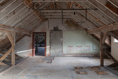 Attic of Montgomery Street Barracks, Presido of San Francisco