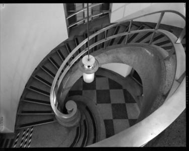 Main Stair, U.C. Print Shop, Berkeley, CA