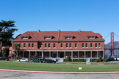 Montgomery Street Barracks, Presido of San Francisco