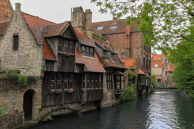 From what I could tell water access is important in Bruges but not quite to the extent that it is in Venice, Italy.