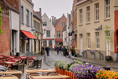 A light rain in Bruges caused me to tuck the camera away at times and pass on photos.
