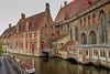 Bruges waterway.
