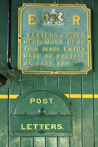 Letter Box, Kingston Flyer Train