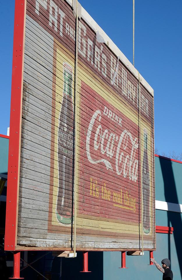Lafayette Historic Coke Sign