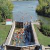 DP 2013 - Appleton Locks Paddle Exiting Lock # 4