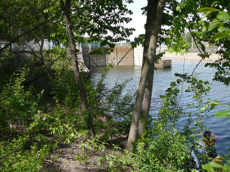 TY - View of Appleton Lock