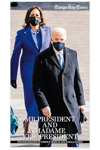 16 x 24 The Inauguration of Joseph R Biden and Kamala D Harris