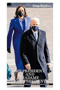 24 x 36 The Inauguration of Joseph R Biden and Kamala D Harris