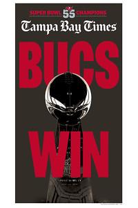 16 x 24 - Bucs Win Super Bowl 55