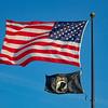 World War II Memorial Fountain Flags - H10