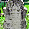 Masonic gravestone from the 1800s