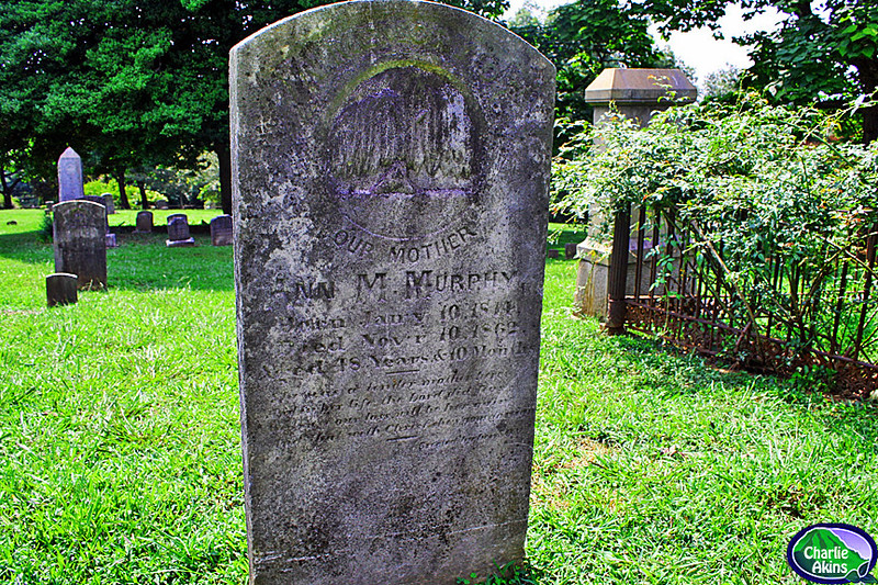 Gravestone from the 1800s