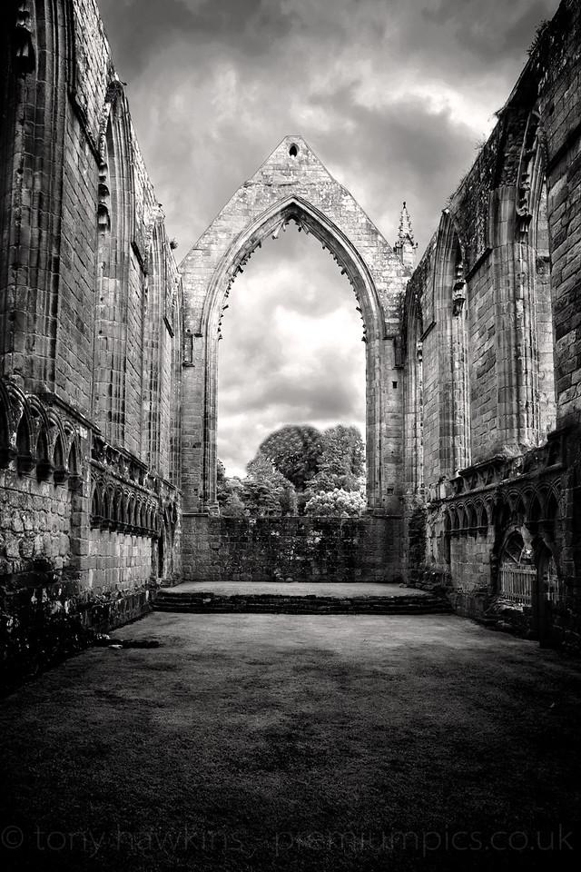 Inside Bolton Abbey