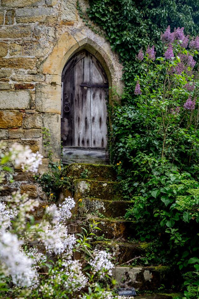 Hidden door - Scotney Castle
