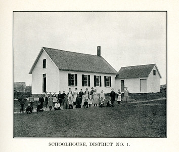 Schoolhouse Number 1, circa 1900