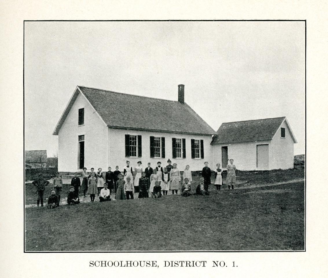 Schoolhouse Number 1, circa 1900