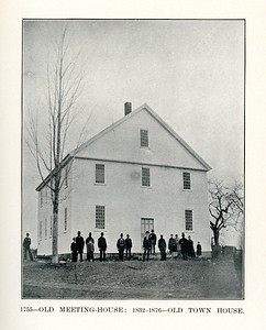 Old Town Hall Meetinghouse - 1755 to 1876