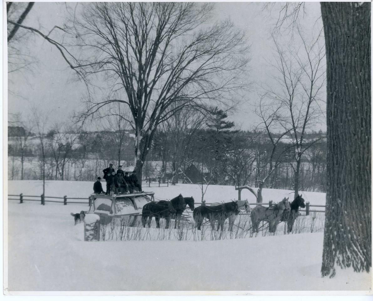 Road Clearing, circa 1880