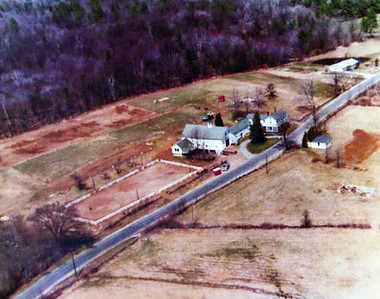 Buttrick farm prior to 102 widening